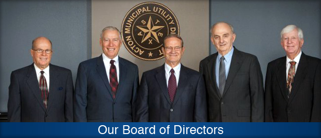 Acton Municipal Utility District Board Members